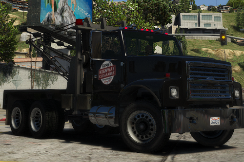 Tow Truck Renewed (Retextured)