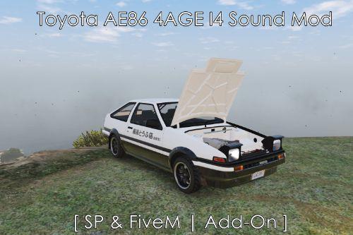 Toyota AE86 4AGE I4 Sound Mod [ SP & FiveM | Add-On ]