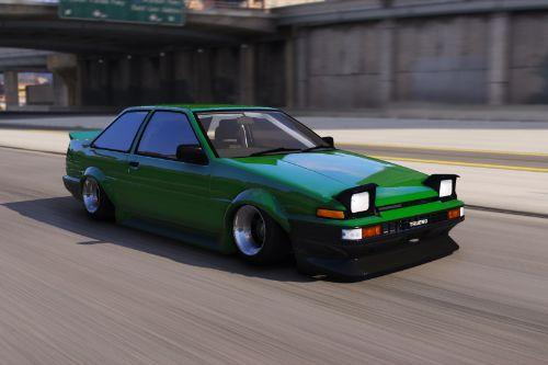 Toyota AE86 Coupe [Add-On | RHD]