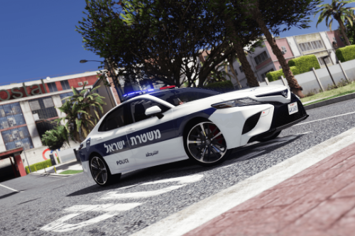 Toyota Camry 2018 | Israeli Police