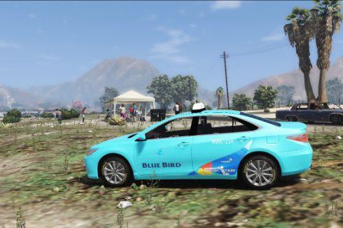 Toyota Camry Blue Bird Taxi