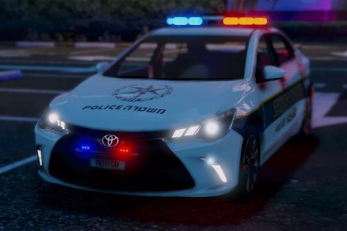 Toyota camry | israel Traffic police | טויוטה קמרי ניידת משטרת התנועה
