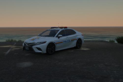Toyota Camry Romanian Politia