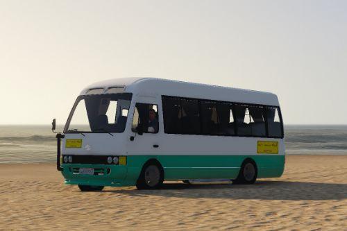 Toyota Coaster Bus Jordanian Paints [Replace]