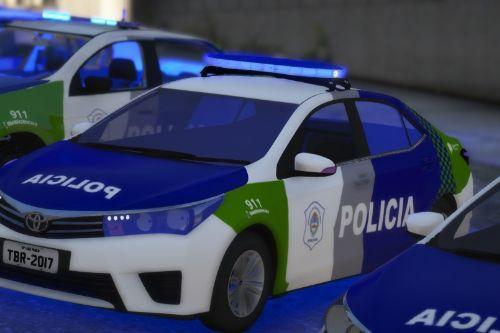 Toyota Corolla de la Policía Bonaerense (Argentina)