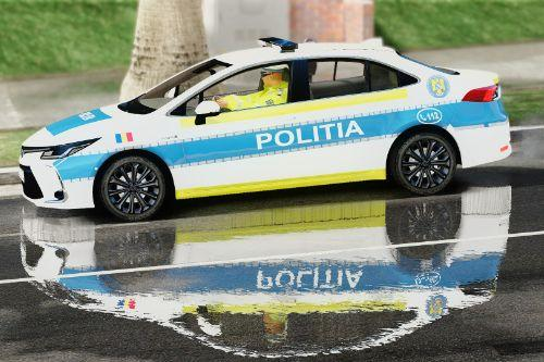 Toyota Corrolla 2020 - Politia Romana (Noul Design)