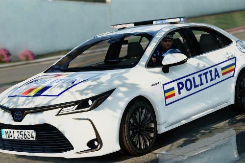 Toyota Corrolla 2020 - Politia Romana