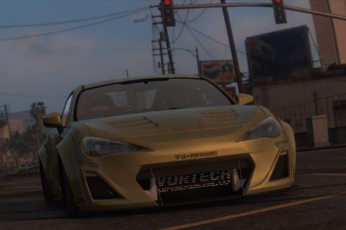 Toyota GT86 Liberty Walk [Add-on]