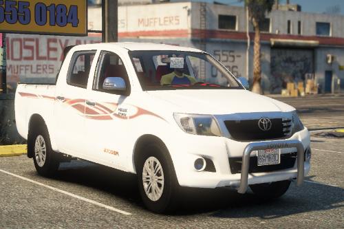 Toyota Hilux 2012-2015 Crew Cab GLX [Add-On / Replace / FiveM / Unlocked]