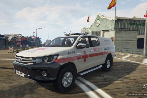 Toyota Hilux Cruz Roja Española of Spain/España