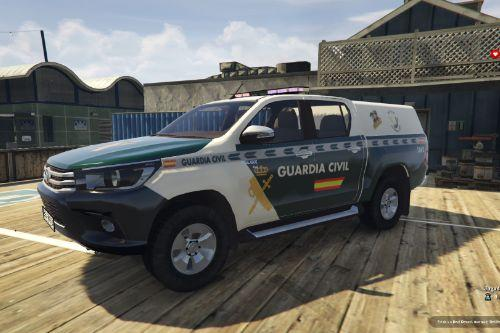 Toyota Hilux Guardia Civil G.E.A.S. of Spain/España