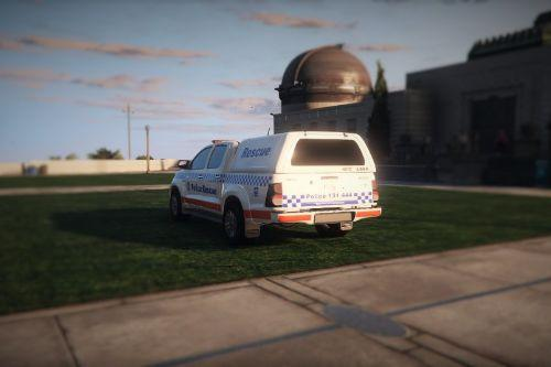 Toyota Hilux NSW Emergency Livery Pack