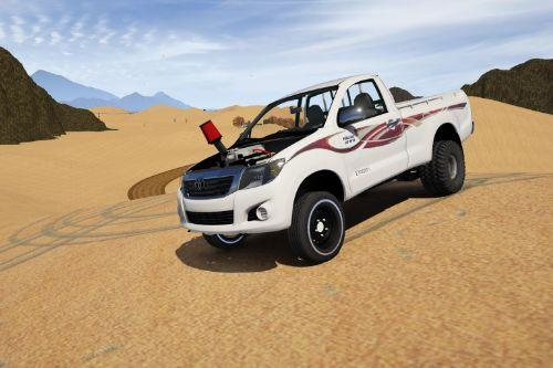 Toyota Hilux Vigo 2013-2015 (Off-Road Modified) [Add-On / Replace | Livery | Template]