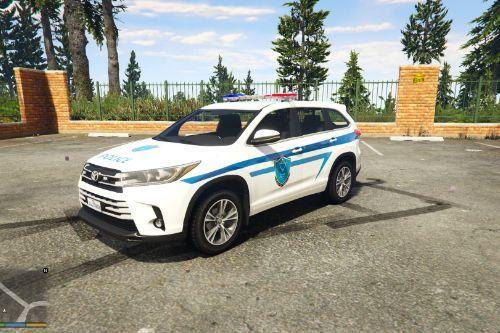 Toyota Kluger | Palestine Police |  الشرطة