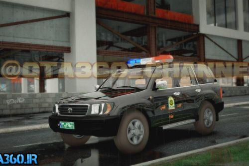 Toyota land cruiser 1999 iranian special police [Replace]