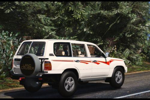 Toyota Land Cruiser 1999 | Replace] Unlocked