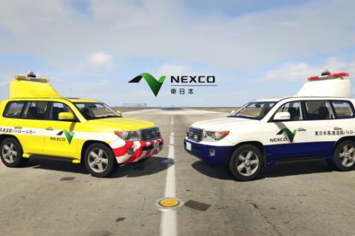 Toyota Land Cruiser 200 restyle |Japan Highway patrol car 道路パトロールカー[Replace | ELS]
