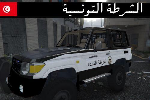 Toyota Land Cruiser j70 Tunisian Police Retexture