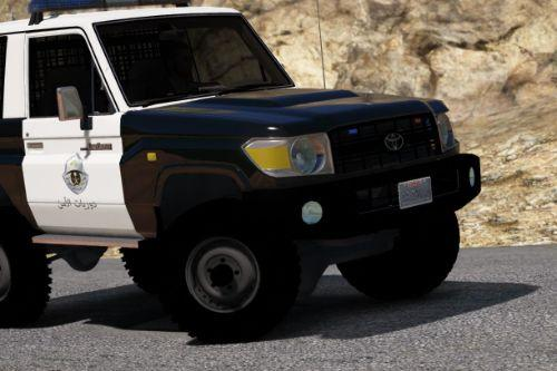 Toyota Land Cruiser j70 Machito standard Police 2014  [Add-On | Replace | Livery | Extras | Template]