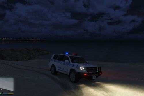 Toyota Land Cruiser NSW Police