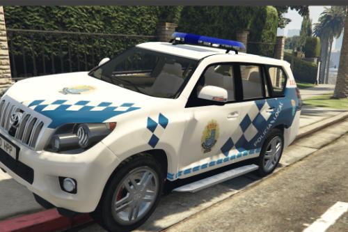 Toyota Land Cruiser Policia Local Narón/Galicia