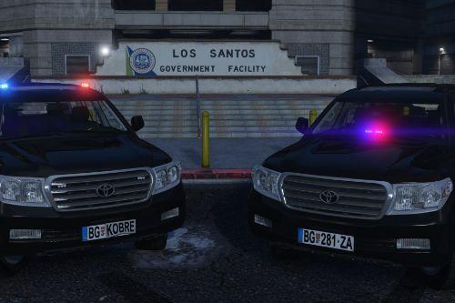 """Toyota Land Cruiser """"Kobre"""" & Unmarked Variant / Serbian Police [Replace 