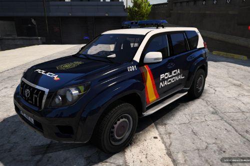 Toyota LandCruiser Policia Nacional/CNP of Spain/España[FiveM-Replace-ELS]