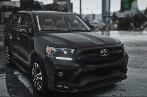 Toyota LC200 Khann Kit 2018 [Add-On | Extras]