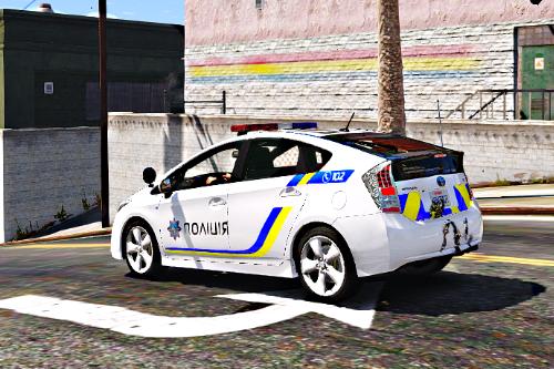Toyota Prius Police Ukraine