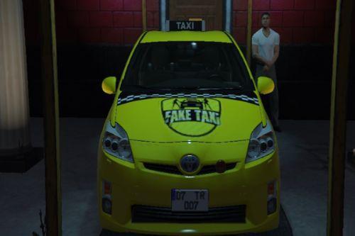 Toyota Prius Taksi Livery