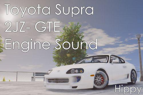 Toyota Supra 2JZ-GTE Engine Sound