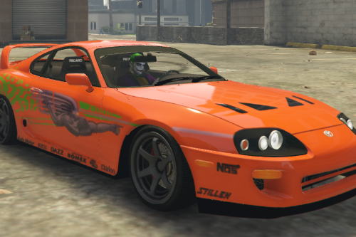 Toyota Supra Paul Walker (Fast and Furious) Paintjob