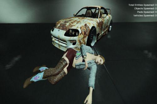 Toyota Supra - Rotten Livery