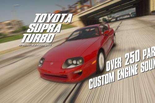 Toyota Supra Turbo '98 (A80)  [Add-On | LODs | 250+ Tuning parts | Sound]