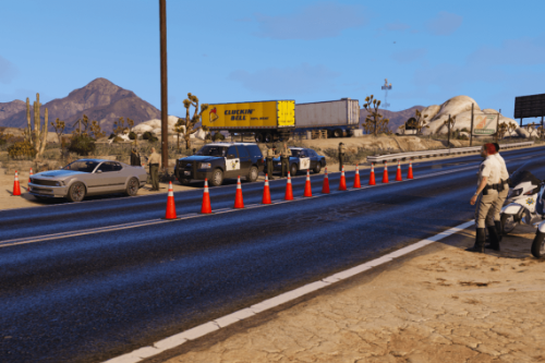 Traffic control Grand Senore Drive [MapEditor]