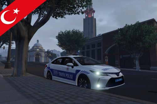 Trafik polis Toyota Corolla 2020 | [ELS]