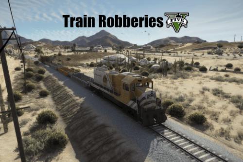 Train Robberies V [.NET]