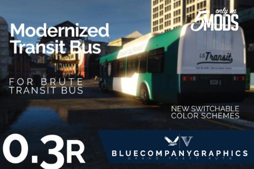 """2013 Bus - """"Modernized"""" Livery"""