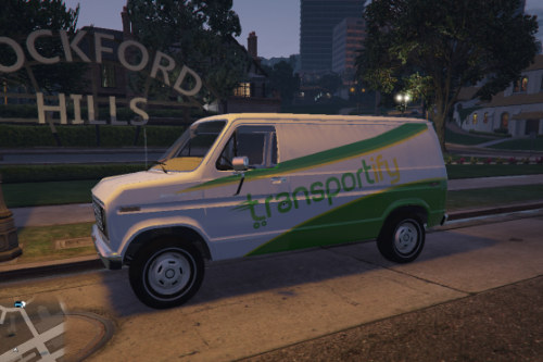 Transportify Livery for 1982 Ford E-150 van by GreenAid
