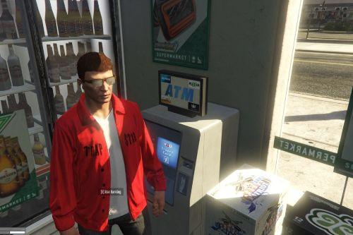 Trapstar Jumper Red [MP] FiveM