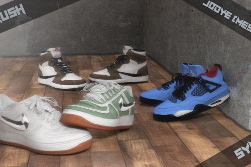 D2af19 shoe render