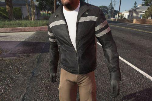 Trevor Leather Jacket Remastered
