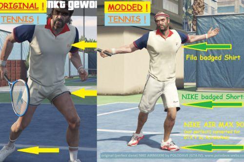 New Tennis Clothes for Trevor