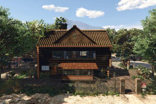 Trevor's Log House