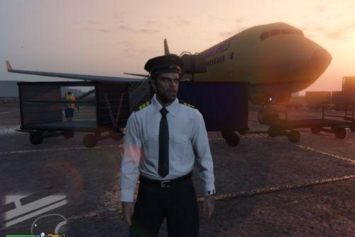 Trevor Airline Pilot Uniform