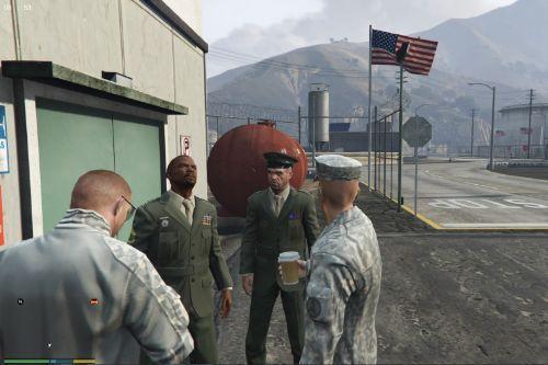 Trevor US Marine Corps Service Uniforms
