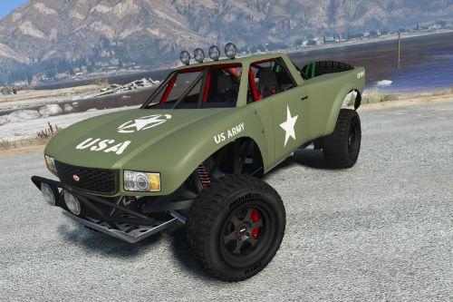 Trophy Truck WWI US Army Livery