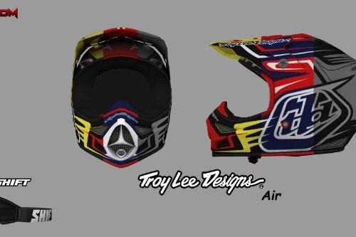 Troy Lee Designs 2016 Air Helmet - Scratch