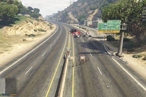 Truck Crash ( YMAP )