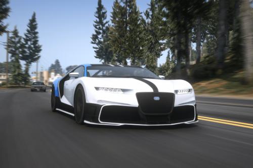 Truffade Nero Supersport [Add-On | FiveM | Auto-Spoiler]